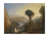 Tivoli: Tobias and the Angel Giclee Print by Joseph Mallord William Turner