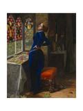 Mariana Giclee Print by John Everett Millais