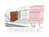The Neapolitan Museum of Art -- a museum that is brown, white, pink, and m… - New Yorker Cartoon Premium Giclee Print by Charlie Hankin