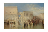 Venice, the Bridge of Sighs Giclee Print by Joseph Mallord William Turner