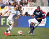 2014 MLS Cup Final: Dec 7, New England Revolution vs LA Galaxy - Landon Donovan, Andrew Farrell Photo by Kyle Terada