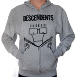 Zip Hoodie: Descendents - Gray Everything Sucks Zip Hoodie