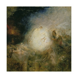 Undine Giving the Ring to Massaniello, Fisherman of Naples Giclee Print by Joseph Mallord William Turner