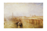 Venice Quay, Ducal Palace Giclee Print by Joseph Mallord William Turner