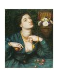 Monna Pomona Giclee Print by Dante Gabriel Rossetti