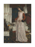 La Belle Iseult Giclee Print by William Morris
