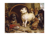 Alexander and Diogenes Giclee Print by Edwin Henry Landseer