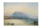 The Blue Rigi, Sunrise Giclee Print by Thomas Stothard