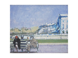The Front at Hove (Turpe Senex Miles Turpe Senilis Amor) Giclee Print by Walter Richard Sickert