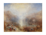 Mercury Sent to Admonish Aeneas Giclee Print by Joseph Mallord William Turner