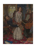 The Awakening Conscience Giclee Print by William Holman Hunt