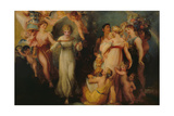 Peace Came Down Upon the Earth Giclee Print by Thomas Stothard