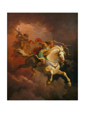The Vision of the White Horse Giclee Print by Philip James De Loutherbourg