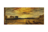 Petworth Park: Tillington Church in the Distance Giclee Print by Joseph Mallord William Turner
