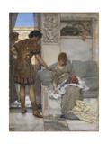 A Silent Greeting Giclee Print by Sir Lawrence Alma-Tadema