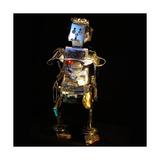 Robo Editor Giclee Print