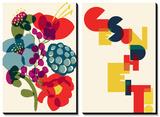Allergies: Franzi's Bouquet ... Gesundheit Poster