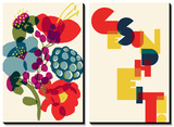 Allergies: Franzi's Bouquet ... Gesundheit Posters