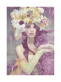 Flower Lady Giclee Print