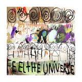 Feel the Universe Giclee Print by Poul Pava