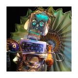 Robo Lady Giclee Print