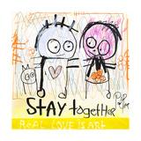 Stay Together Giclée-tryk af Poul Pava