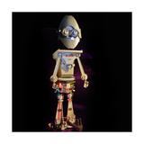 Robo in a Eggshell Giclee Print