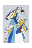 Parrot 2 Giclee Print by Hasse Jacobsen