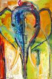 Elephant Giclee Print by Jami Vestergaard