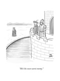 """He's his own worst enemy."" - New Yorker Cartoon Premium Giclee Print by Paul Noth"