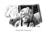 """Use your White Privilege, Luke."" - New Yorker Cartoon Premium Giclee Print by Benjamin Schwartz"