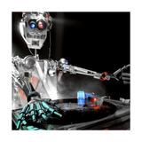 Robo DJ Giclee Print