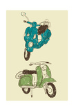 Scooters I Posters