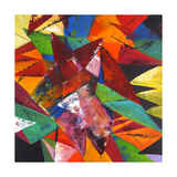 Stained Glass II Giclee Print