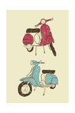 Scooters II Posters
