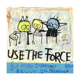 Use the Force Lámina giclée por Poul Pava