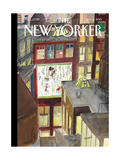 The New Yorker Cover - January 5, 2015 Regular Giclee Print by Jean-Jacques Sempé