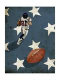 American Football Giclee Print