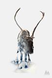 Reindeer Giclee Print