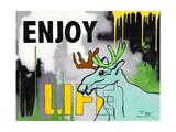 Enjoy Life Posters by Rikke Bek