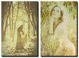 Sylvan Legends and Jungle Lady Prints by Anna Mutwil