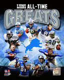 Detroit Lions All Time Greats Composite Photo