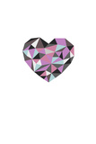 Diamond Heart Giclee Print