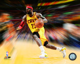 LeBron James Motion Blast Photo