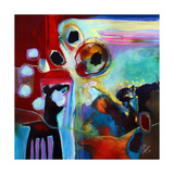 Animal Abstract 1 Giclee Print by Susse Volander
