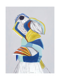 Parrot I Giclee Print by Hasse Jacobsen