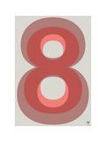 88 Giclee Print