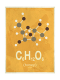 Molecule Honey Giclee Print