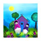 Babushka Home Giclee Print