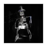 Robo Cowboy Giclee Print